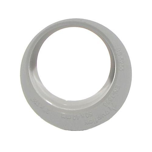 White 40mm x 32mm Waste Reducer