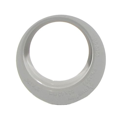 White 50mm x 40mm Waste Reducer