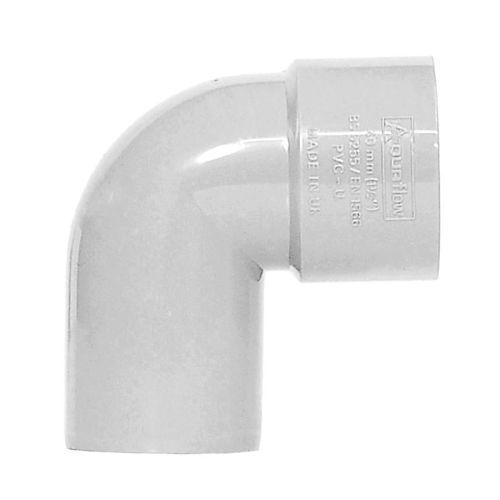 White 40mm Waste 92 Spigot Bend