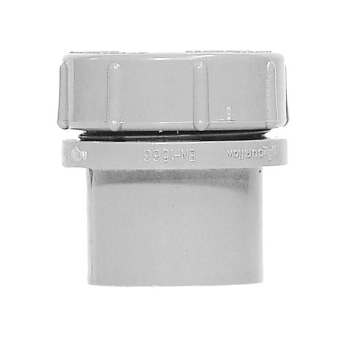 White 40mm Waste Access Plug with Screw Cap