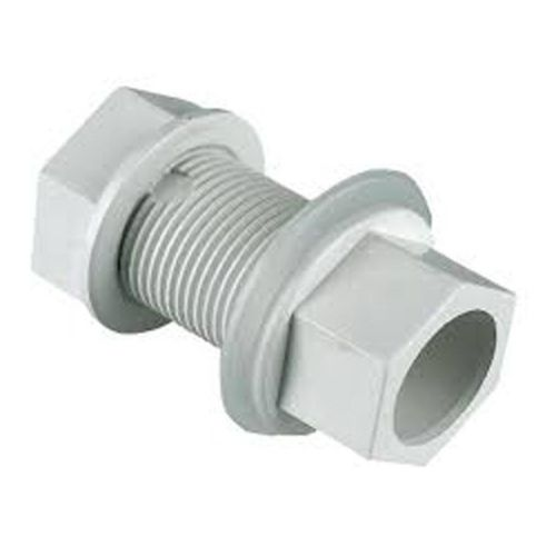 Aquaflow Straight Tank Connector 22mm White