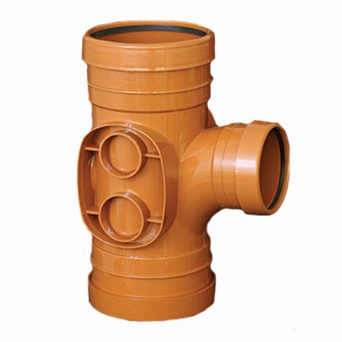 Underground 160mm 90 Triple Socket Branch Reduced 110m outlet