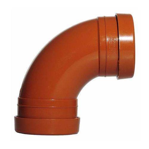 Underground 110mm Bend  92 Degree Double Socket