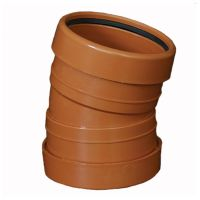 Underground 110mm Bend 15 Degree Double Socket