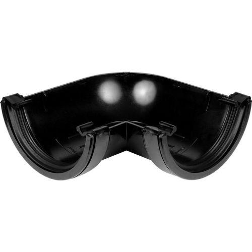 Black 150mm Commercial 90 Gutter Angle