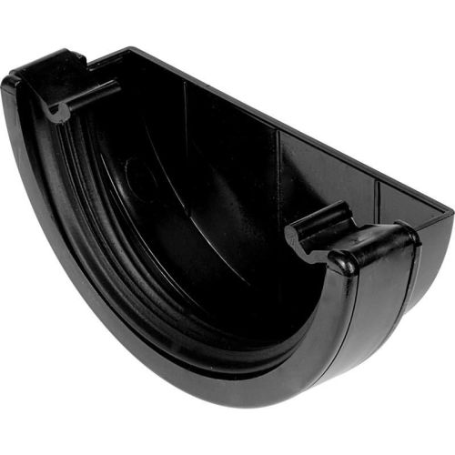 Black 150mm Commercial External Stopend