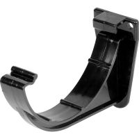 Black 150mm Commercial Gutter Fascia Bracket