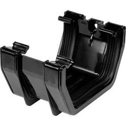 Black Square Line Union Bracket