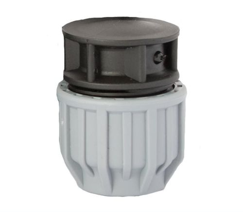 MDPE Blue 25mm End Cap