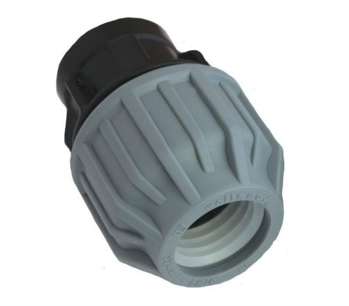 MDPE Female Coupling 25mm x 1