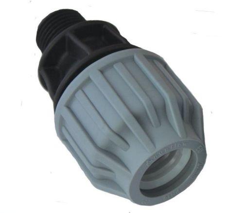 MDPE Male Iron Coupling 50mm x 1 1/2