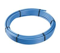 MDPE Blue 63mm x 50m Coil Water Pipe