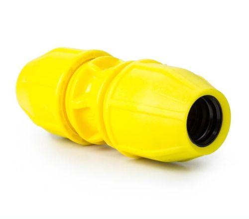 Yellow Gas 20mm Coupling