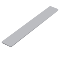 9mm Flat General Purpose Fascia Board 250mm End Cap