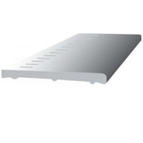 9mm Vented Flat General Purpose Fascia Board 100mm x 5m
