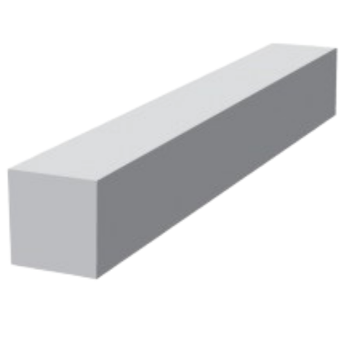 9mm Vented Flat General Purpose Fascia Corner 300mm 90
