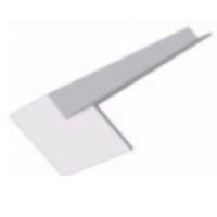 16mm Square Fascia Internal Corner 300mm 90