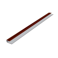 Hollow Soffit J Starter Trim x 5m