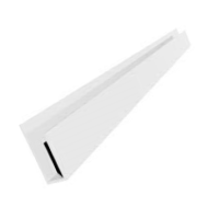 Hollow Soffit F Trim x 5m