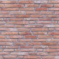 Red Brick 8mm x 250mm x 2.6m  Decorative Cladding
