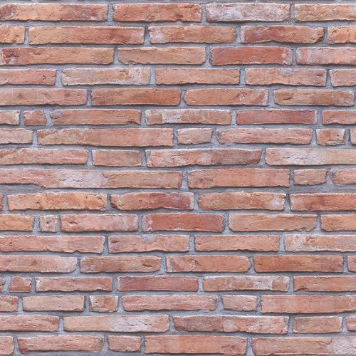 Red Brick 8mm x 250mm x 2.6m  Decorative Cladding
