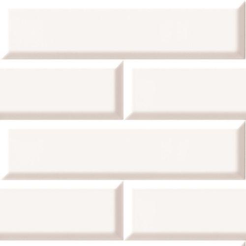 Mini Metro White 8mm x 250mm x 2.6m  Decorative Cladding