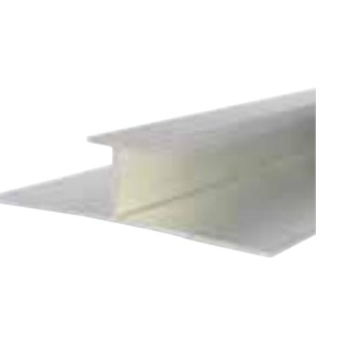 Chrome Ali Decorative Cladding H Section Joiner 10mm X 2.4m
