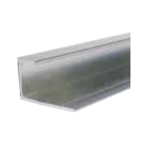 Silver Decorative Cladding End Trim 10mm x 2.4m