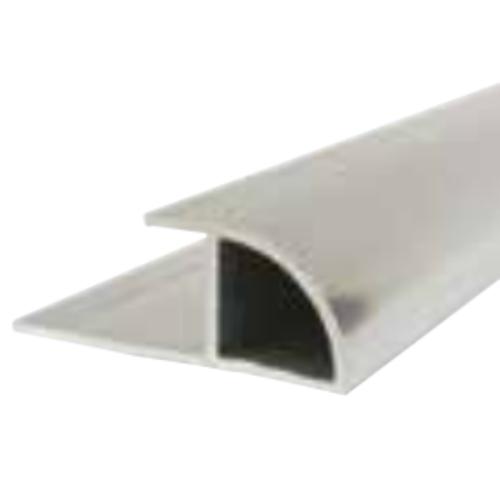 Silver Decorative Cladding Quadrant Trim 10mm x 2.4m