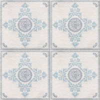 Multi Tile Modern Blue 8mm x 400mm x 2.4m Decorative Cladding