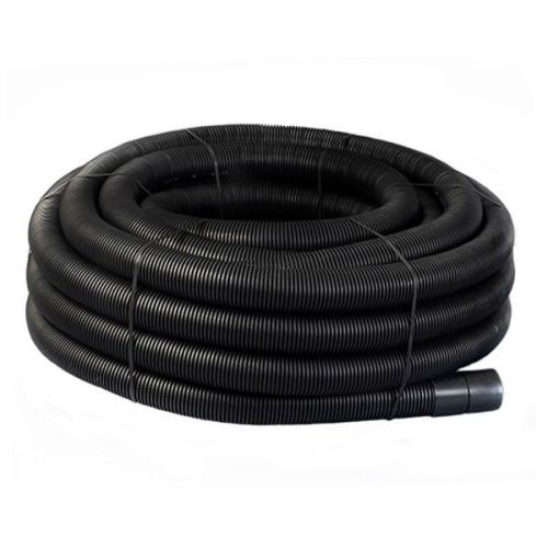 Twinwall Duct Coils 110mm x 50m Black