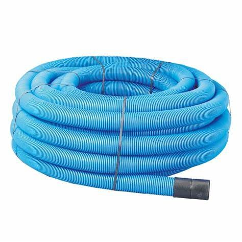 Twinwall Duct Coils 110mm x 50m Blue