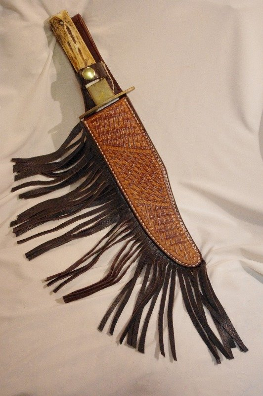 fringed sheath