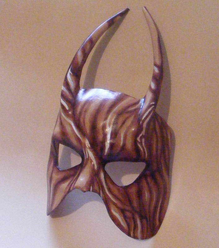 HORNED WOODLAND MASK