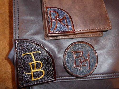 small custom initial patches