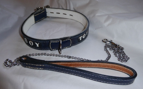 MATCHING COLLAR AND LEAD