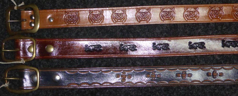 stamped belts header