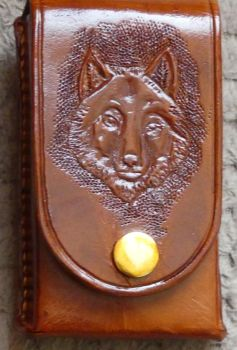 SMALL WOLF PHONE CASE