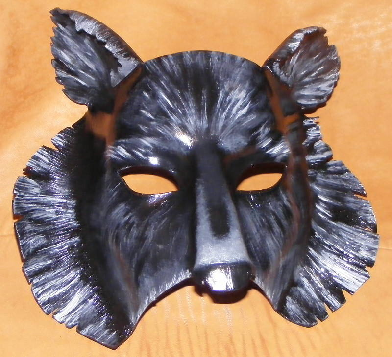 LEATHERR MASK/WOLF