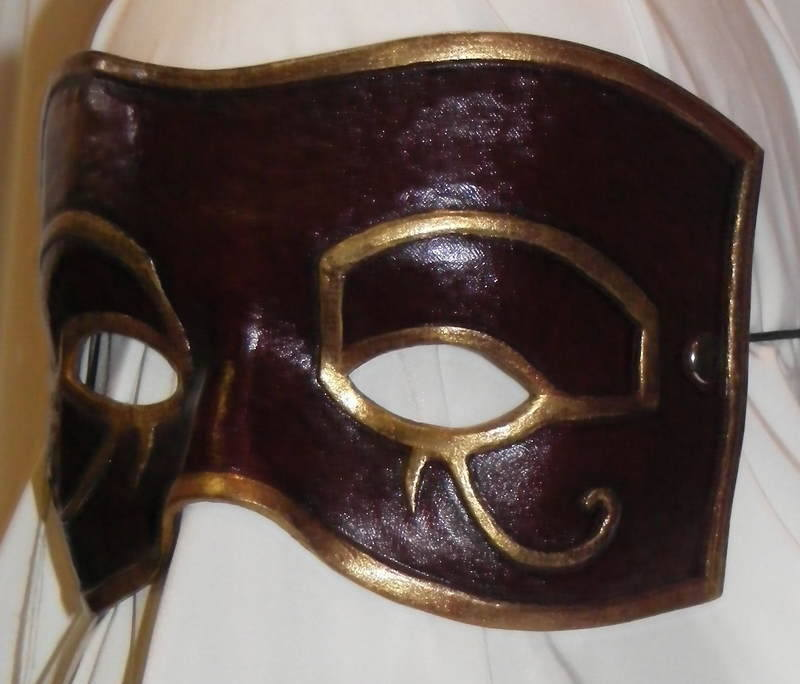 LEATHER MASK 10