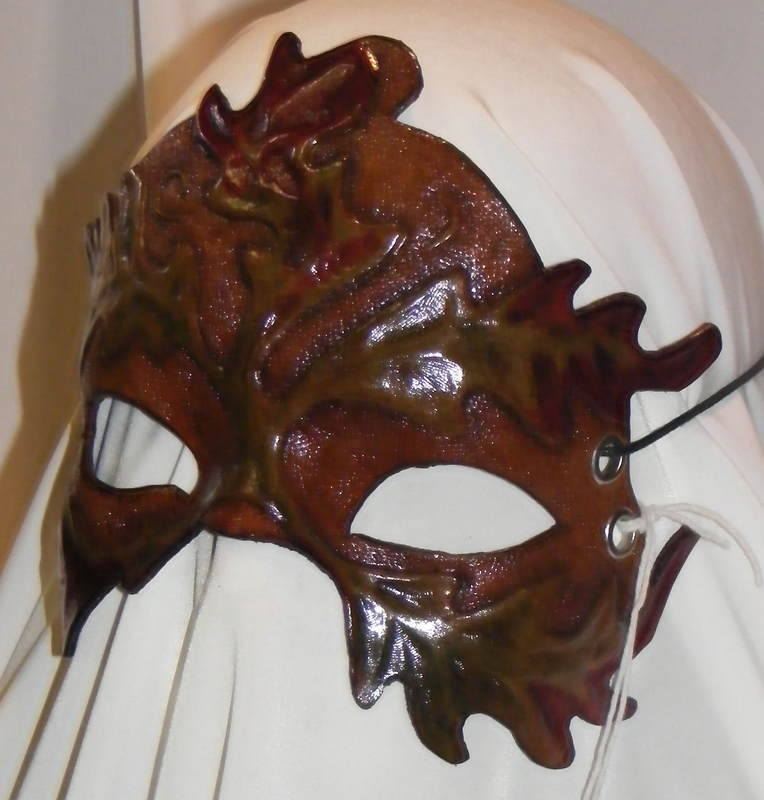 LEATHER MASK 14