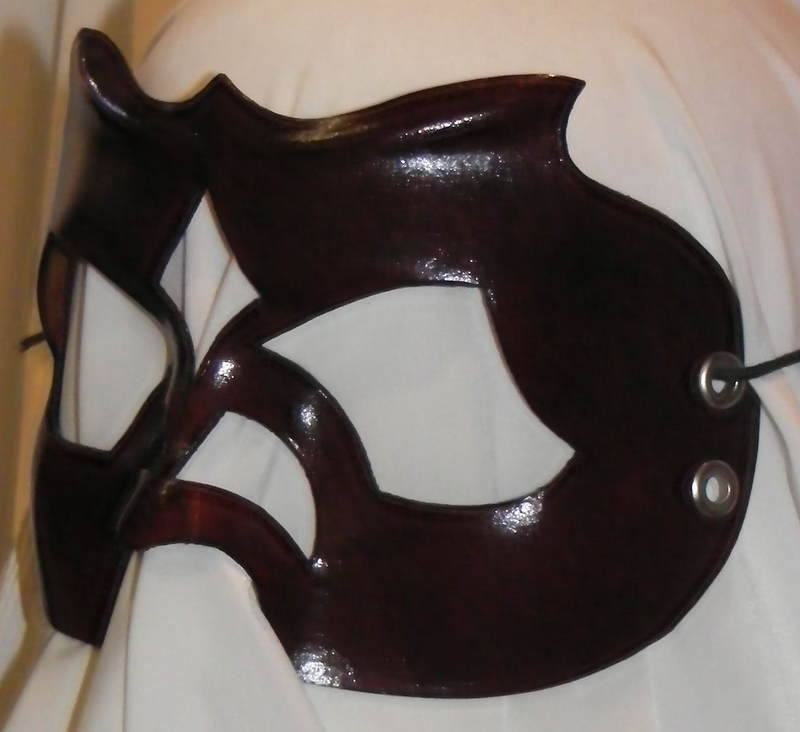 LEATHER MASK 17