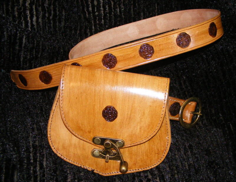 BELT AND BAG