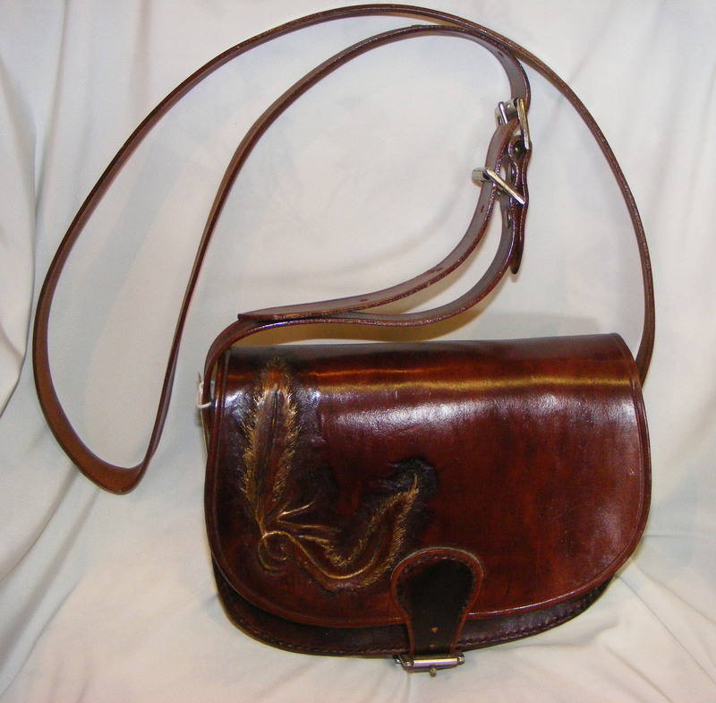 LEATHER HAND BAG 1