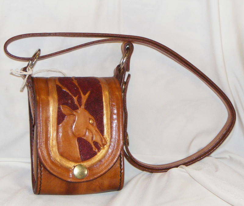 LEATHER HAND BAG 5