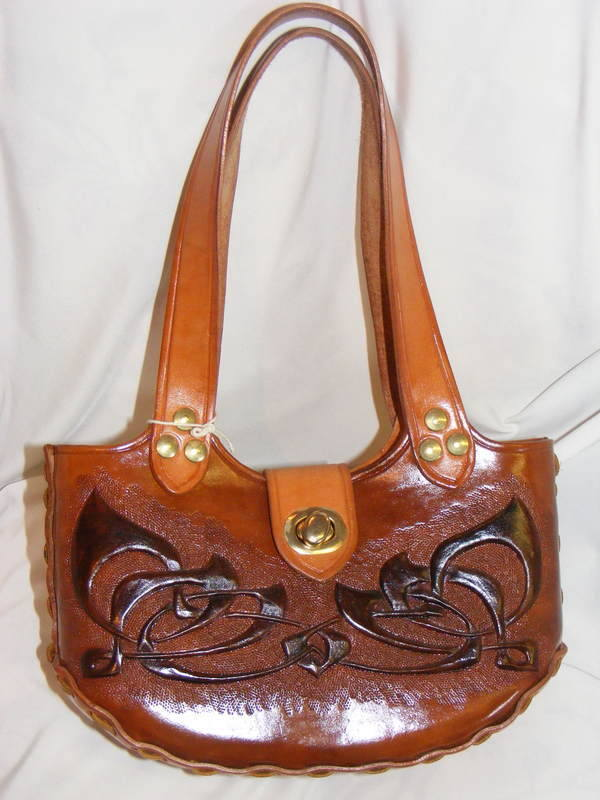 LEATHER HAND BAG 6