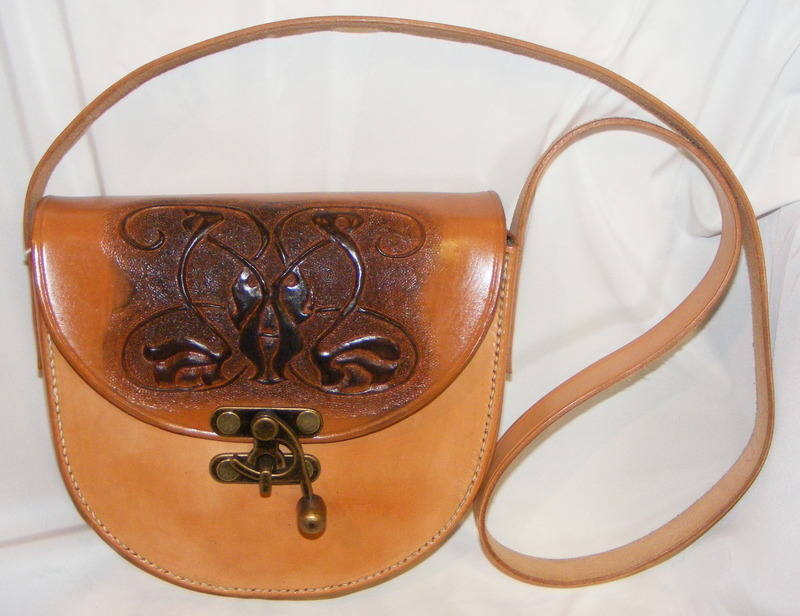 LEATHER HAND BAG 10