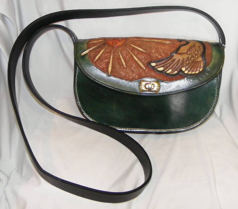 LEATHER HAND BAG 12