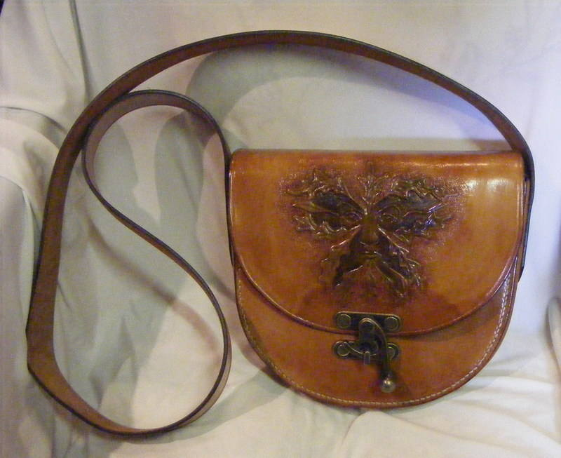 LEATHER HAND BAG 13