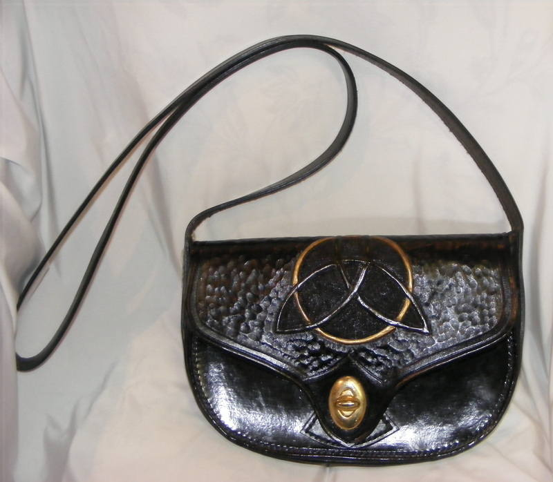 LEATHER HAND BAG 14
